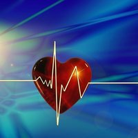 Higher heart rate and reduced heart rate variability persist during