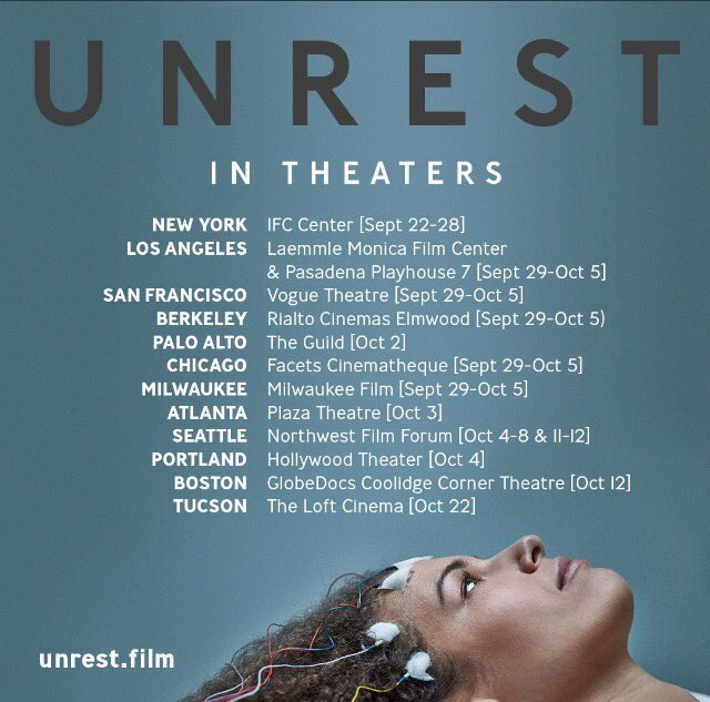 Unrest: A Film About Severe ME/CFS is Released!   American